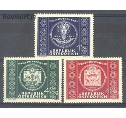 Znaczek Austria 1949 Mi 943-945 Czyste **