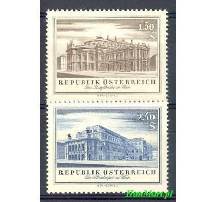 Znaczek Austria 1955 Mi 1020-1021 Czyste **