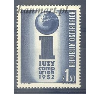 Znaczek Austria 1952 Mi 974 Czyste **
