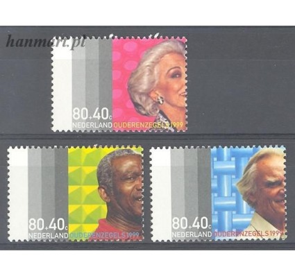 Holandia 1999 Mi 1713-1715 Czyste **