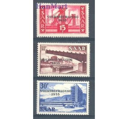 Znaczek Saara 1955 Mi 362-364 Czyste **