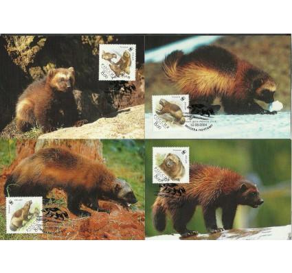 Znaczek Rosja 2004 Mi 1198-1201 Karta Max
