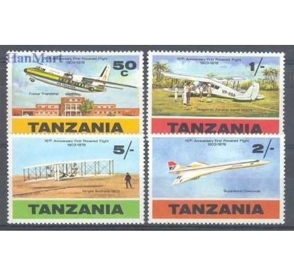 Znaczek Tanzania 1978 Mi 117-120 Czyste **