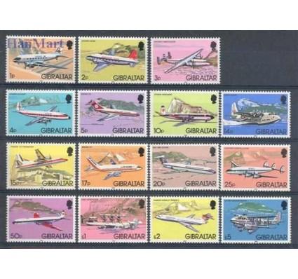 Znaczek Gibraltar 1982 Mi 432-446 Czyste **