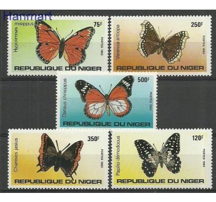 Znaczek Niger 1983 Mi 867-871 Czyste **