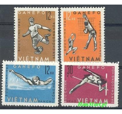 Znaczek Wietnam 1963 Mi 283-286 Czyste **
