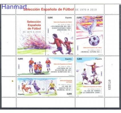 Znaczek Hiszpania 2011 Mi bl 214 Czyste **