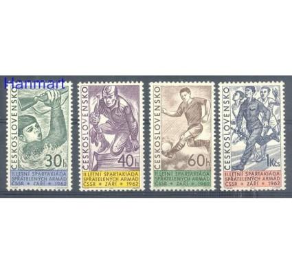 Znaczek Czechosłowacja 1962 Mi 1351-1354 Czyste **