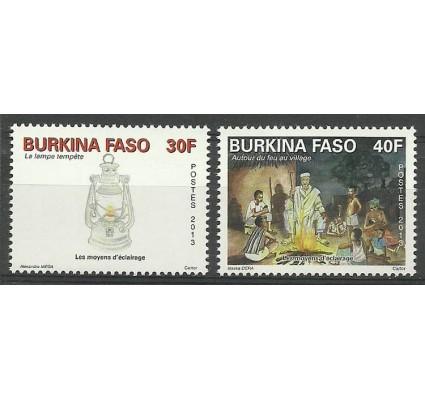Znaczek Burkina Faso 2013 Mi 1976-1977 Czyste **