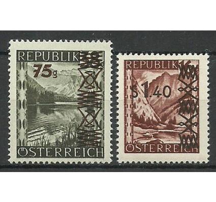 Znaczek Austria 1947 Mi 835-836 Czyste **