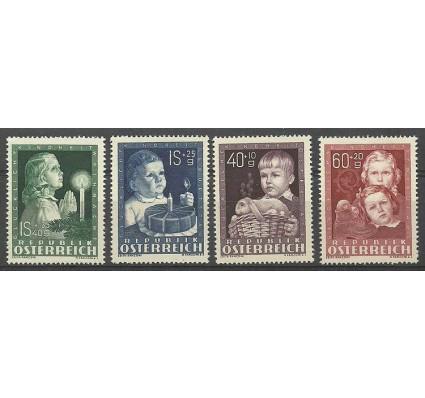 Znaczek Austria 1949 Mi 929-932 Czyste **