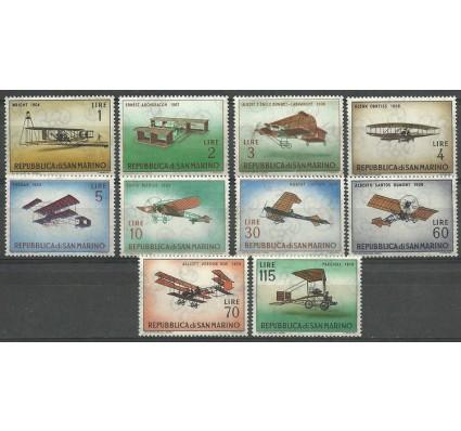 Znaczek San Marino 1962 Mi 719-728 Czyste **