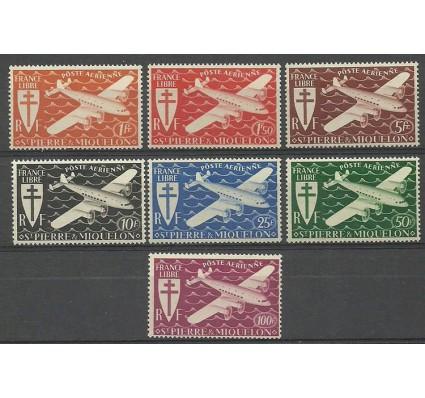 Znaczek Saint-Pierre i Miquelon 1942 Mi 317-323 Czyste **