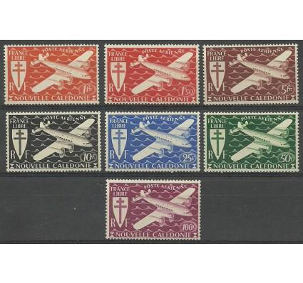 Znaczek Nowa Kaledonia 1942 Mi 296-302 Czyste **