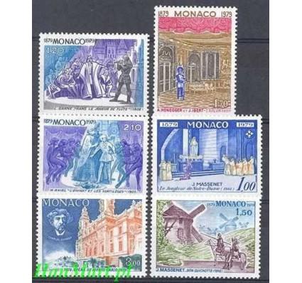 Znaczek Monako 1979 Mi 1364-1369 Czyste **
