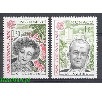 Znaczek Monako 1980 Mi 1421-1422 Czyste **