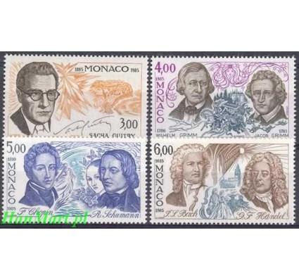Znaczek Monako 1985 Mi 1723-1726 Czyste **
