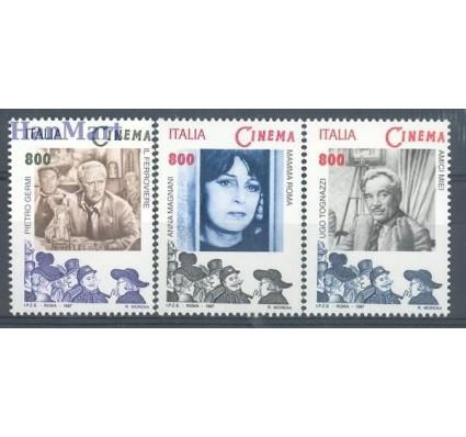 Znaczek Włochy 1997 Mi 2527-2529 Czyste **