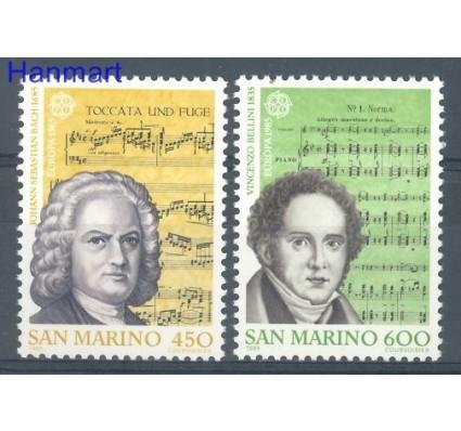 Znaczek San Marino 1985 Mi 1313-1314 Czyste **