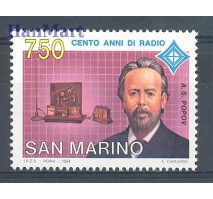 Znaczek San Marino 1994 Mi 1569 Czyste **