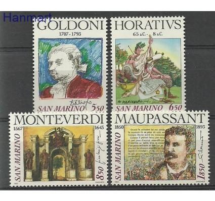 Znaczek San Marino 1993 Mi 1551-1554 Czyste **