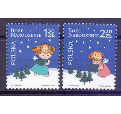 Znaczek Polska 2005 Mi 4225-4226 Fi 4075-4076 Czyste **