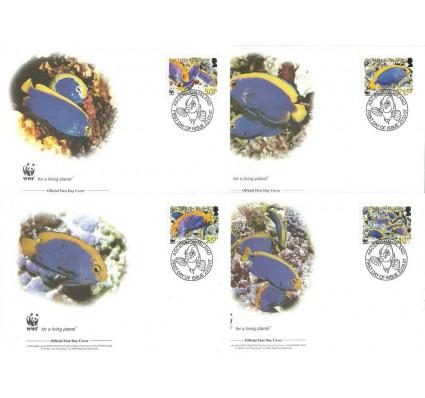 Znaczek Wyspa Wniebowstąpienia 2007 Mi 989-992 FDC