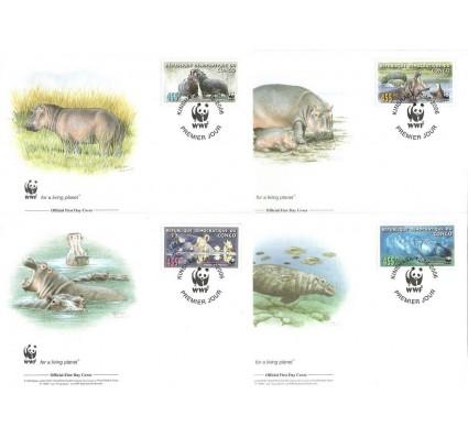 Znaczek Kongo Kinszasa / Zair 2006 Mi 1901-1904 FDC