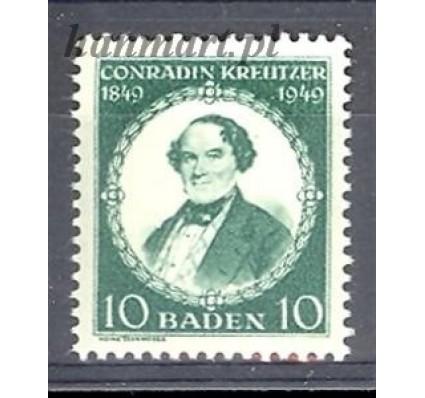 Znaczek Baden / Badenia 1949 Mi 53 Czyste **