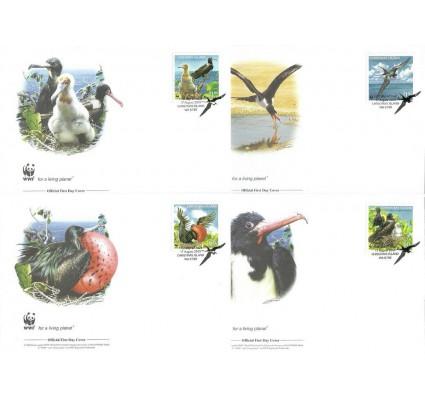 Znaczek Wyspa Bożego Narodzenia 2010 Mi 681-684 FDC