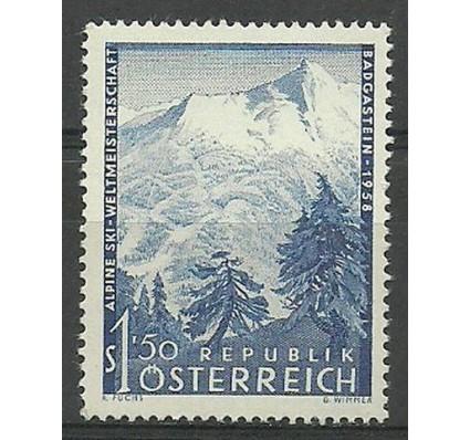 Znaczek Austria 1958 Mi 1040 Czyste **