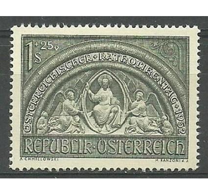 Znaczek Austria 1952 Mi 977 Czyste **