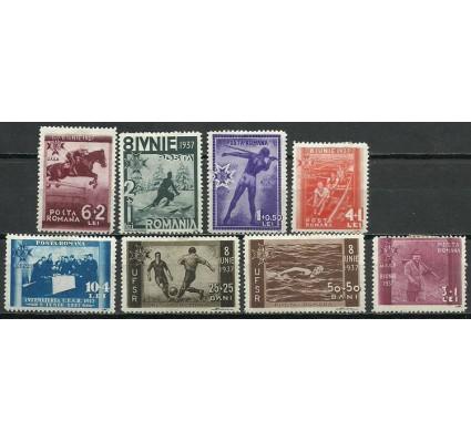 Znaczek Rumunia 1937 Mi 528-535 Z podlepką *