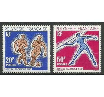 Znaczek Polinezja Francuska 1963 Mi 28-29 Czyste **