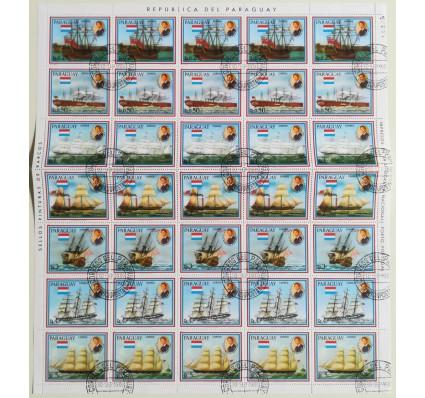 Znaczek Paragwaj 1981 Mi ark 3385-3391 Stemplowane