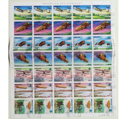 Znaczek Paragwaj 1984 Mi ark 3698-3404 Stemplowane