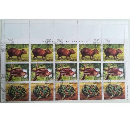 Znaczek Paragwaj 1985 Mi ark 3851-3857 Stemplowane
