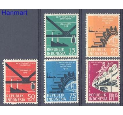 Znaczek Indonezja 1959 Mi 253-257 Czyste **