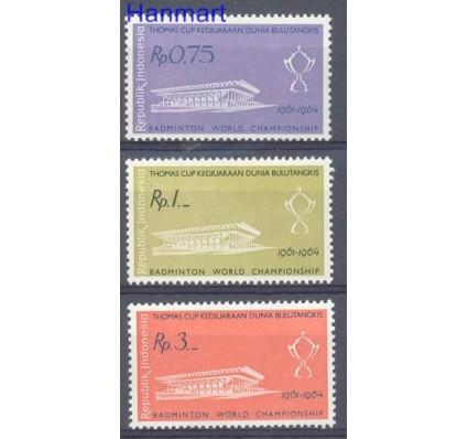 Znaczek Indonezja 1961 Mi 301-303 Czyste **