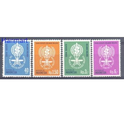 Znaczek Indonezja 1962 Mi 337-340 Czyste **