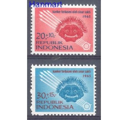 Znaczek Indonezja 1965 Mi 488-489 Czyste **