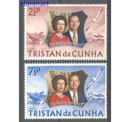 Znaczek Tristan da Cunha 1972 Mi 178-179 Czyste **