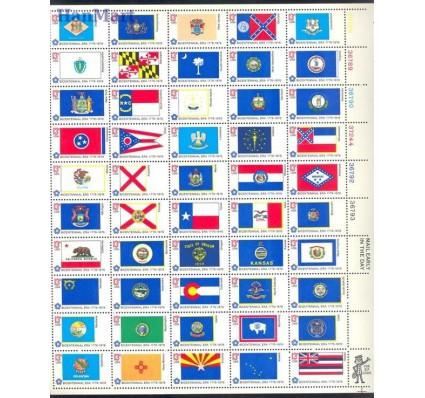 Znaczek USA 1976 Mi ark 1203-1252 Czyste **