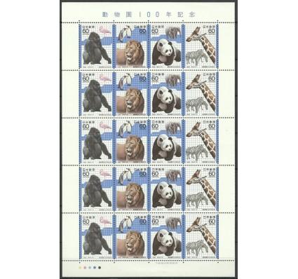 Znaczek Japonia 1982 Mi ark 1504-1507 Czyste **