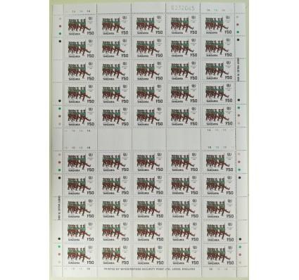 Znaczek Tanzania 1986 Mi ark 288 Czyste **