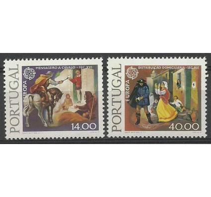 Znaczek Portugalia 1979 Mi 1441x-1442y Czyste **