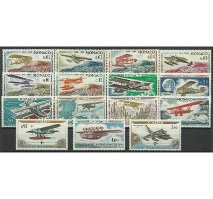 Znaczek Monako 1964 Mi 757-771 Czyste **