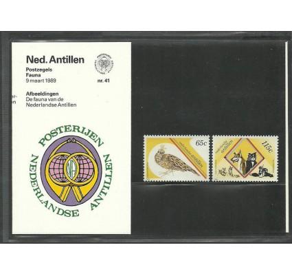 Znaczek Antyle Holenderskie 1989 Mi 656-657 Czyste **