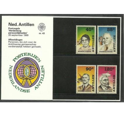 Znaczek Antyle Holenderskie 1989 Mi 660-663 Czyste **