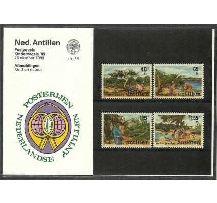 Znaczek Antyle Holenderskie 1989 Mi 664-667 Czyste **